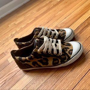 Coach Barrett Leopard Sneakers 6